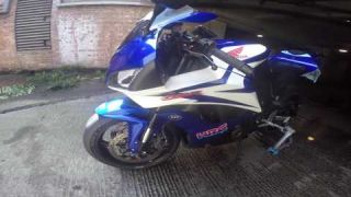 They vandalised my cbr motorbike - London
